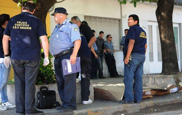 Acribillado. El cuerpo de Gabriel Melián recibió seis disparos efectuados desde muy corta distancia.
