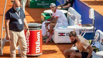 El tenista Benoit Paire protagonizó un papelón en el Argentina Open