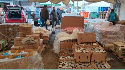 El Plan de Fortalecimiento Alimentario asistirá a unas 1.000 organizaciones sociales.