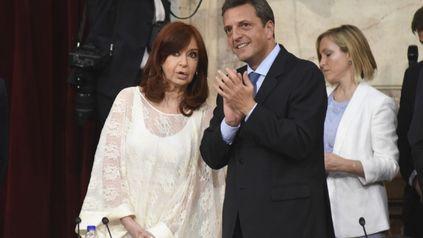 Cristina Kirchner y Sergio Massa, protagonistas y rivales en las Paso de 2013 y 2017, hoy socios en el Frente de Todos.