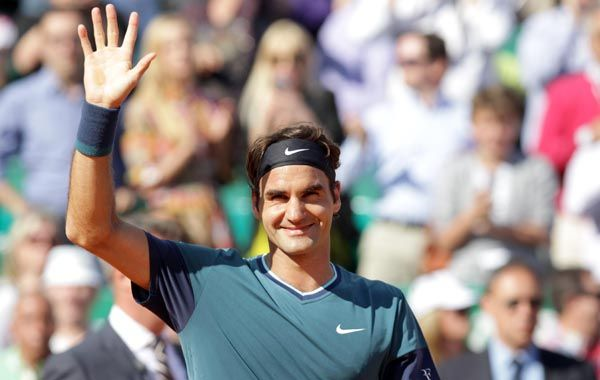El suizo Federer