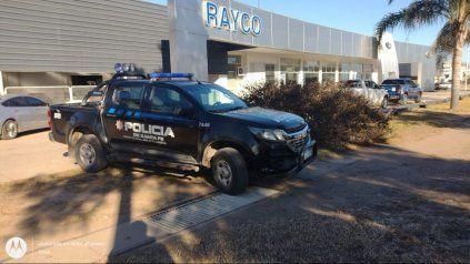 El dinero sustraído y recuperado pertenece a la firma Rayco.