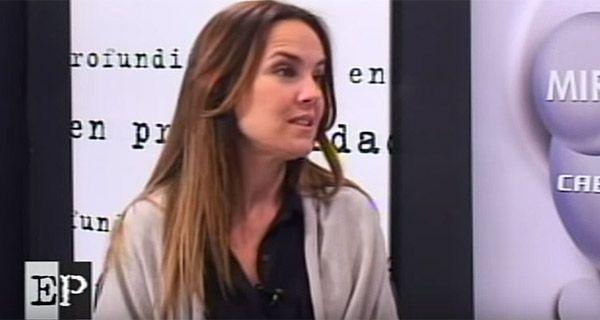 Anita Martínez dijo que la gente ve en Mauricio Macri la figura de un cambio
