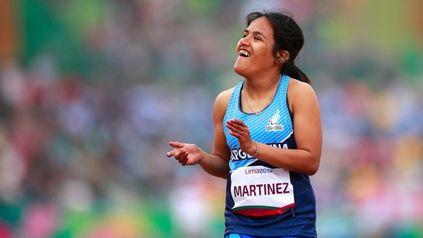 Cumplió. Yanina Martínez logró meterse en la final, donde terminó cuarta.
