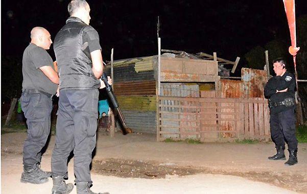 La casilla frente a la cual atacaron y donde murió Almaraz.