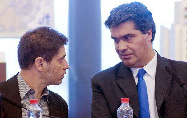 Aliados. Kicillof y Capitanich tensan la relación con el jefe de la Afip.