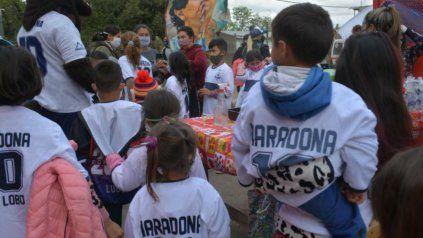 Muchos chicos llevan el nombre de Diego Armando en homenaje al Diez.