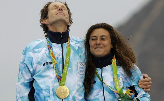 Santiago Lange y la rosarina Cecilia Carranza Saroli ganaron el oro en Río 2016 y serán los abanderados argentinos en Tokio.