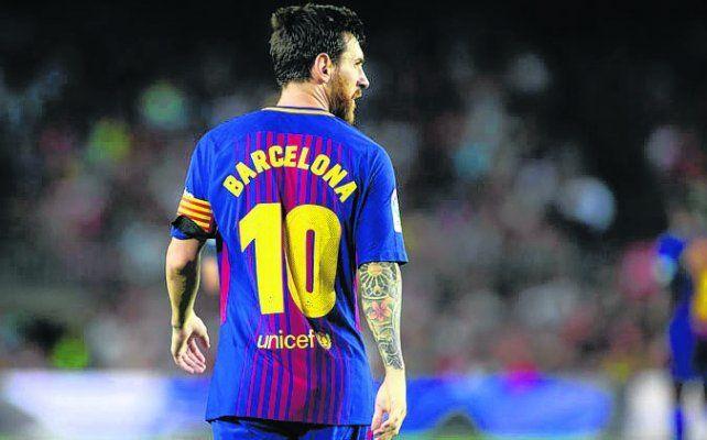 Messi=Barcelona: un homenaje del mejor a las víctimas del atentado