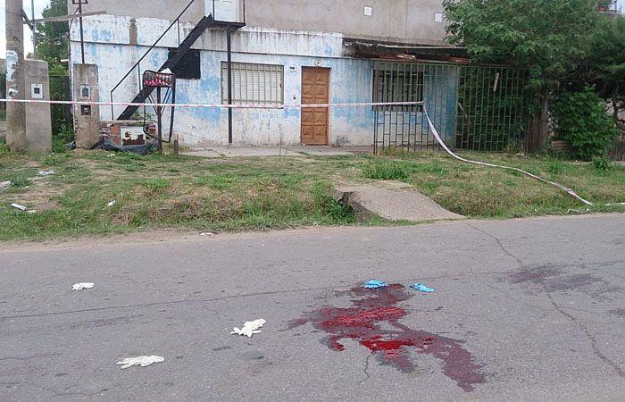 El hecho ocurrió esta madrugada en la zona de Sánchez de Loria al 1100 bis. (Foto:C.Mutti)