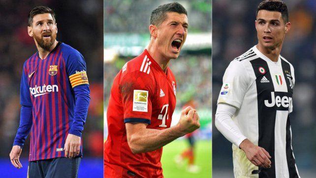 Los goles en los torneos más importantes de Europa (España