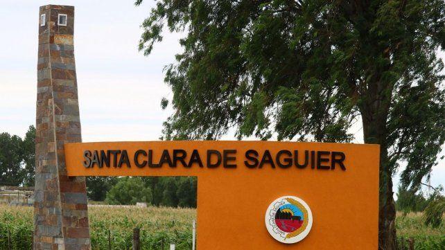 Santa Clara de Saguier es una localidad del departamento Castellanos