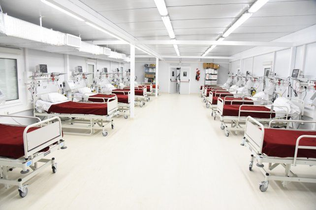 Covid-19: La provincia habilita 19 nuevas camas en el hospital modular de Granader Baigorria