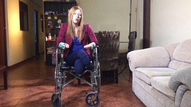 Shirley Meléndez fue víctima de una mala práctica médica en un sanatorio peruano.