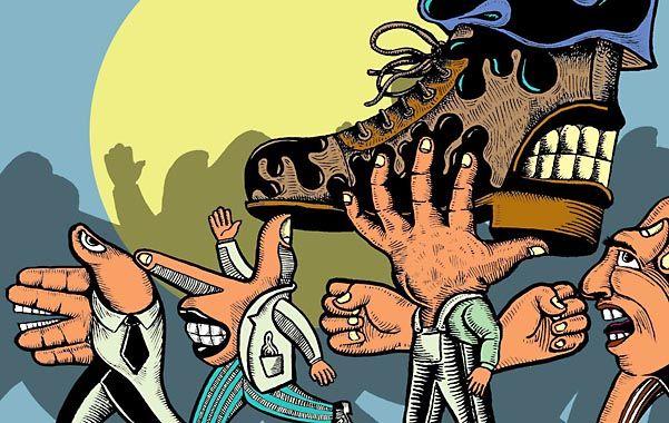 La definición del salario como remuneración demandó años de luchas de los trabajadores. (Ilustración Chachi Verona)