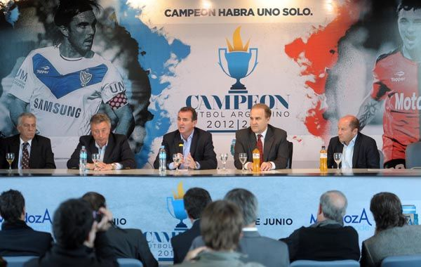 La presentación del torneo se realizó este mediodía en Ezeiza.