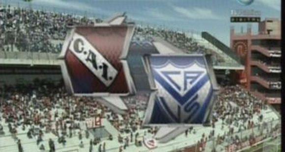 Independiente no levanta y Vélez se llevó un triunfo de Avellaneda