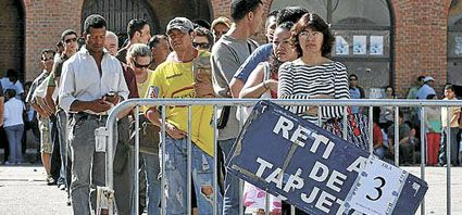 Los inmigrantes quieren quedarse   en España aunque no tengan trabajo