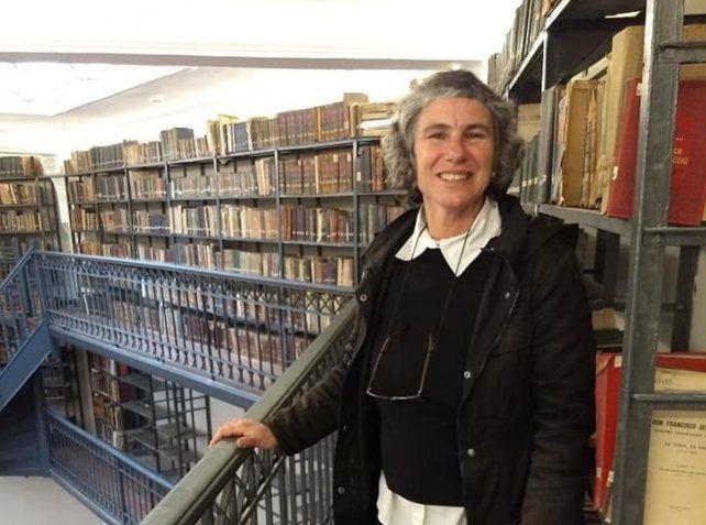 Verónica Laurino es también bibliotecaria.