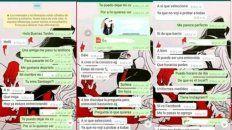 Una prueba clave: los chats de la víctima con el autor del abuso sexual.