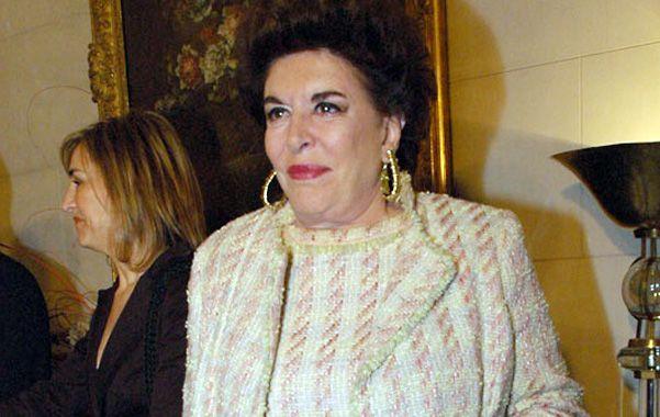 Referente. Lafuente continuó el mecenazgo cultural de Amalita.