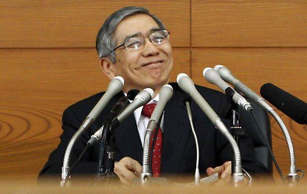 Yen para todos. El presidente del Banco Central japonés
