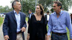 El presidente Macri y la gobernadora Vidal.