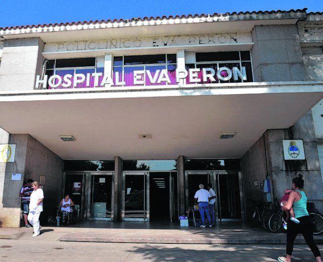 Conmoción. Albertengo está bajo fuerte custodia en el Hospital de Baigorria.