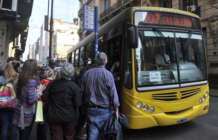 La empresa Rosario Bus afrontó una semana de conflictos hace pocos días. (Foto de archivo)
