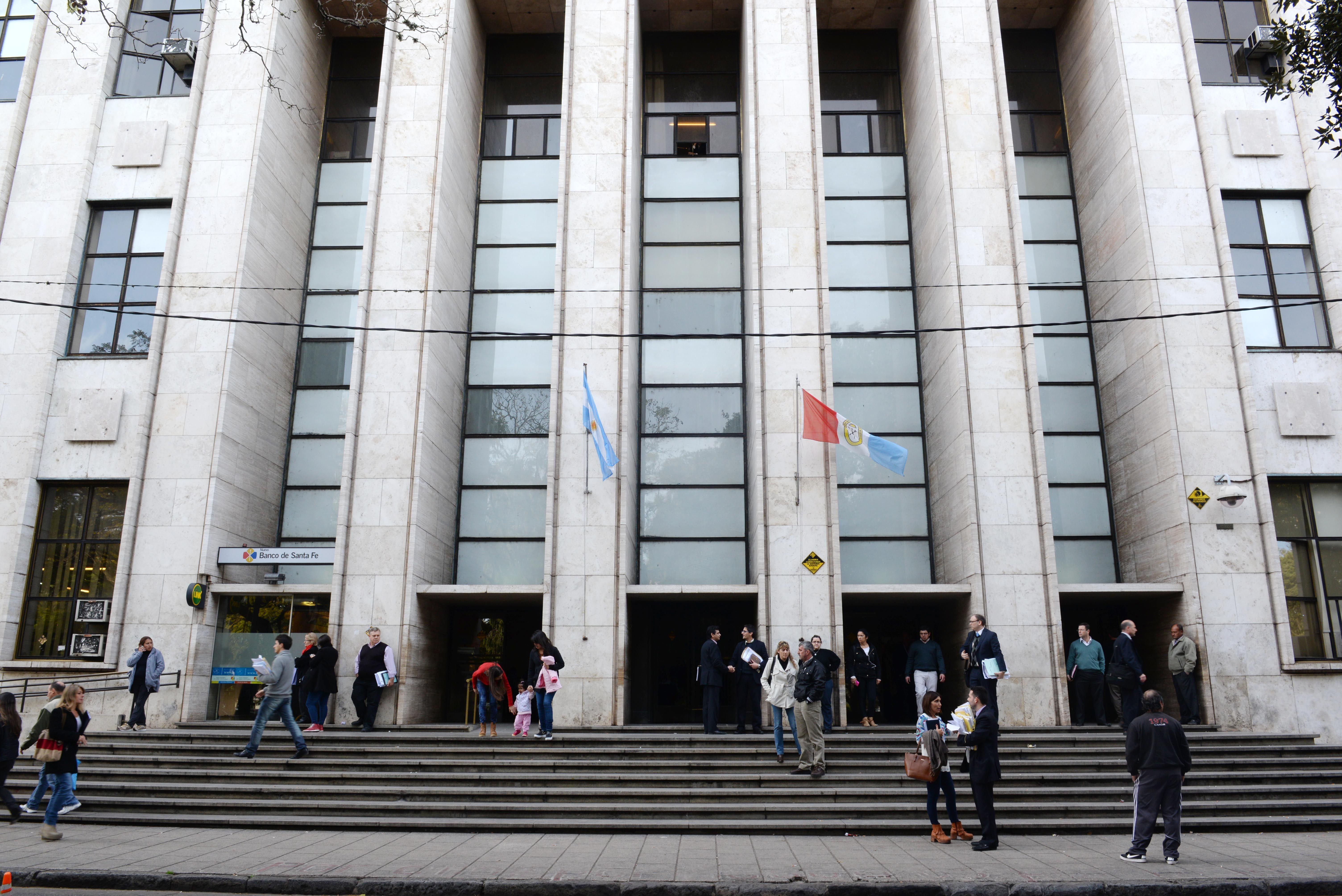 tribunales. Ayer se hizo la audiencia imputativa contra el viajante Adrián C..(Silvina Salinas / La Capital)