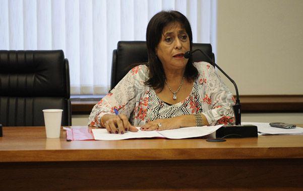 Magistrada. La jueza Raquel Cosgaya ordenó la libertad restringida de Isaías D.