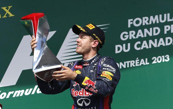 Vettel ganó de punta a punta el Gran Premio. sin dejarles opción a sus rivales. (Foto: AP)
