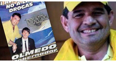Quedó en off side: el diputado Olmedo usa una imagen con Messi para su campaña política
