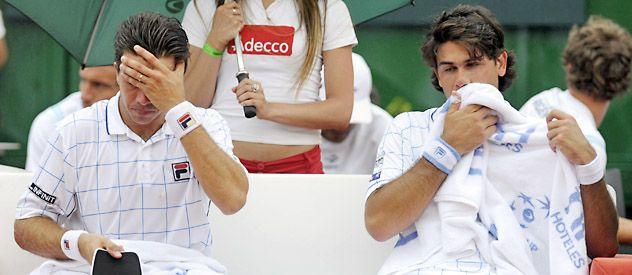 Casi una condena de Argentina en la última jornada de Copa Davis