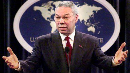 Colin Powell fue secretario de Estado durante el mandato de George W. Bush.