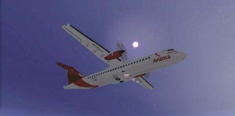 despegando. Las aeronaves que se utilizarán son las ATR 72-200