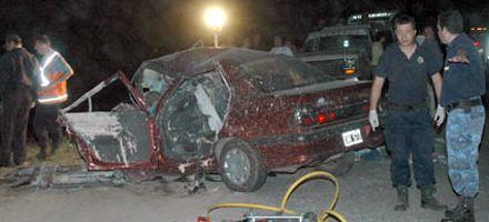 Chocaron dos autos y murieron seis personas en una ruta de Córdoba