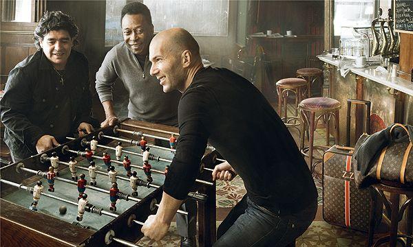 Diego, Pelé y Zidane, nuevas estrellas de la moda de la mano de Louis Vuitton