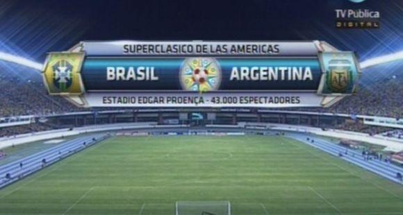 Brasil fue más que Argentina y se quedó con justicia con el Superclásico de las Américas