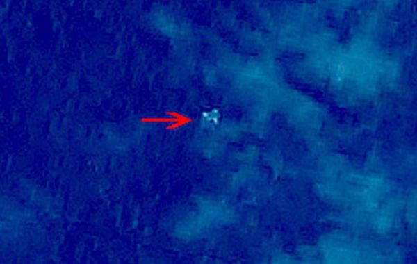 Las imágenes satelitales de lo que podrían ser restos del avión MH370.