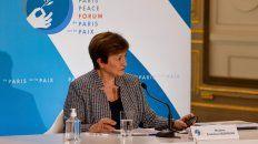 Contramano. La directora gerente del FMI, Kristalina Georgieva.