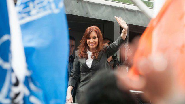 Cristina llega hoy al edificio de Comodoro Py