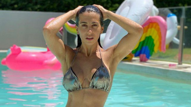 La bailarina Cinthia Fernández tomó una decisión política