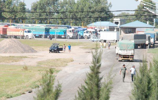 Área en conflicto. La empresa quería cambiar el uso de la playa de camiones. El transporte