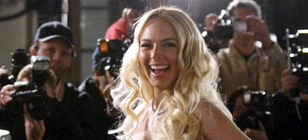 La actriz Lindsay Lohan trabajará en depósito de cadáveres