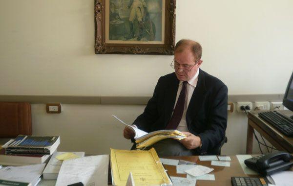 El fiscal Eduardo Lago tiene asignada una custodia permanente de la TOE en Venado Tuerto.