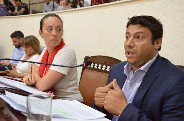 La concejal del PRO se defendió de las acusaciones del Frente Progresista.