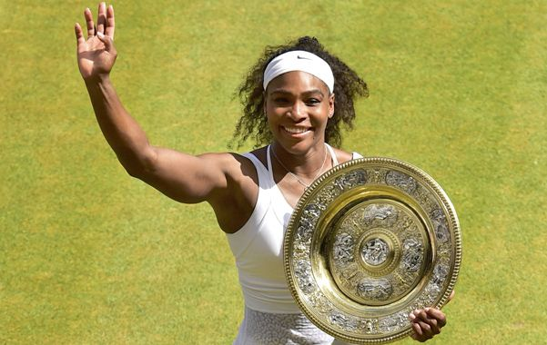 La sexta vez. Serena Williams tuvo dudas al principio y al final