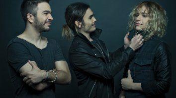 """Rock para tres. Los hermanos Gastón, Patricio y Guido Sardelli, a 16 años de su disco debut """"Airbag""""."""