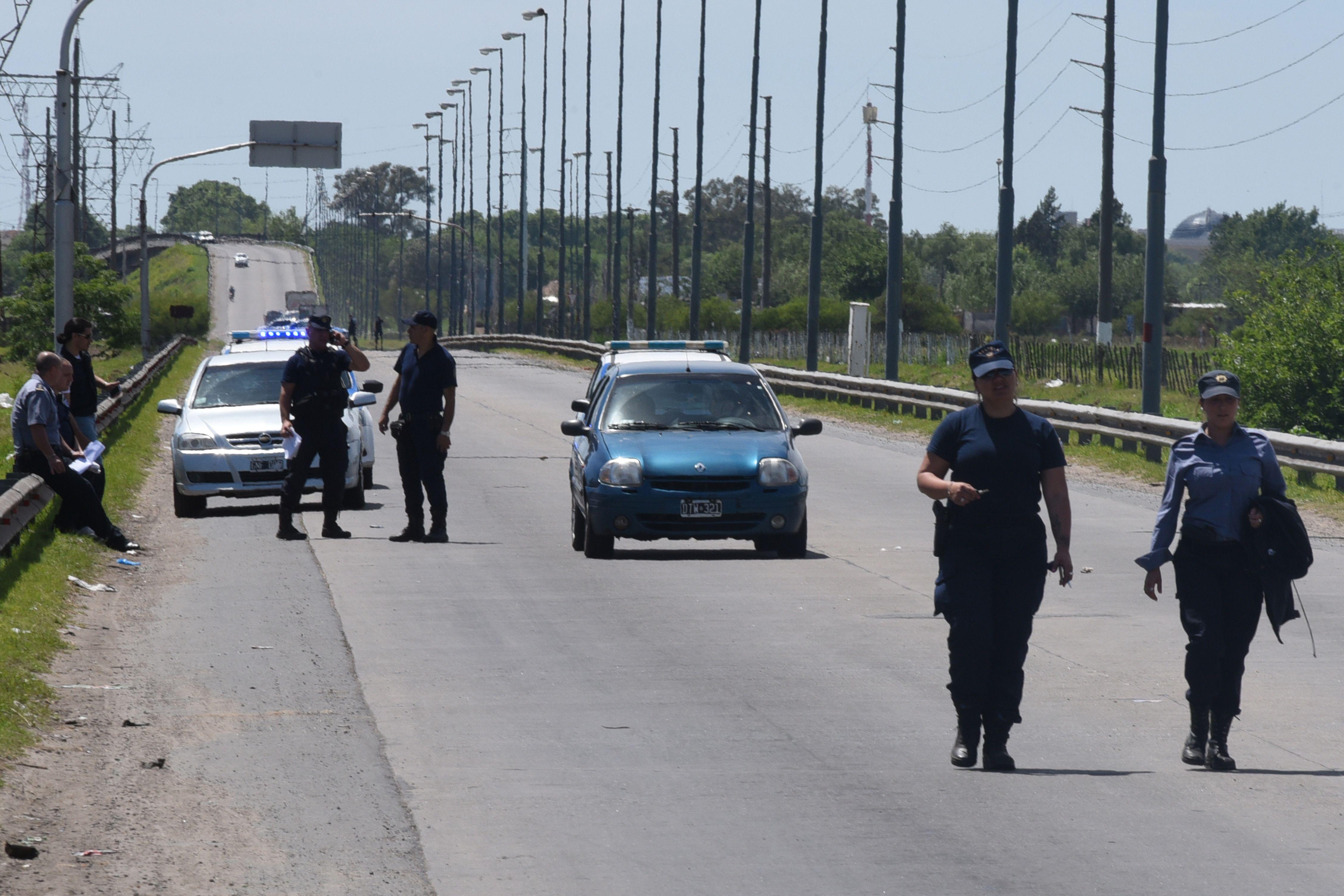 Cavalli fue asesinado mientras esperaba luz verde de un semáforo en Sorrento y Circunvalación. (Celina Mutti Lovera / La Capital)